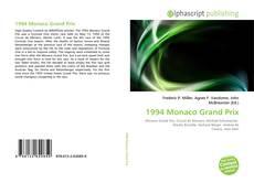 Portada del libro de 1994 Monaco Grand Prix