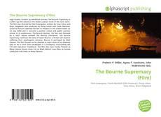 Copertina di The Bourne Supremacy (Film)