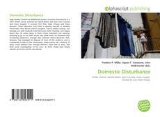 Bookcover of Domestic Disturbance