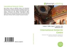 Bookcover of International Antarctic Centre