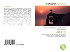Bookcover of Last Rites