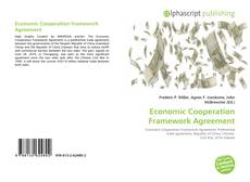Bookcover of Economic Cooperation Framework Agreement