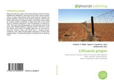 Bookcover of Lithuania proper