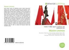 Bookcover of Maxim Litvinov