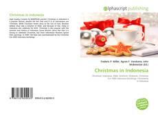 Christmas in Indonesia kitap kapağı