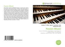 Portada del libro de Passion (Music)