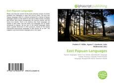 Buchcover von East Papuan Languages