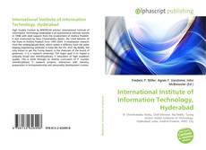 International Institute of Information Technology, Hyderabad的封面