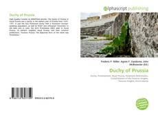 Bookcover of Duchy of Prussia