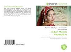 Обложка Indian Muslim Nationalism
