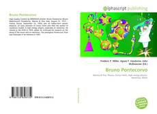 Bookcover of Bruno Pontecorvo