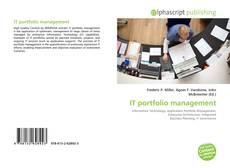 IT portfolio management的封面