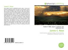 Couverture de James C. Rose