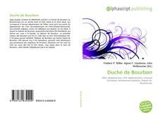 Обложка Duché de Bourbon