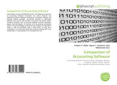 Comparison of Accounting Software kitap kapağı