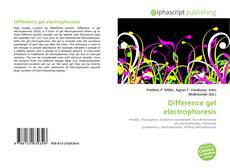 Difference gel electrophoresis kitap kapağı