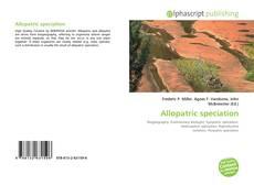 Allopatric speciation的封面