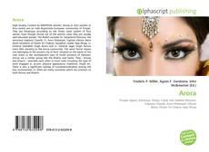 Buchcover von Arora