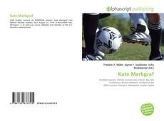 Portada del libro de Kate Markgraf