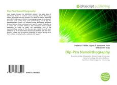 Bookcover of Dip-Pen Nanolithography