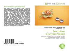 Anarchisme Insurrectionnaliste kitap kapağı