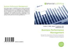Bookcover of Business Performance Management