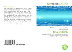 Bookcover of Ping of death