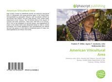 American Viticultural Area的封面