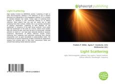 Bookcover of Light Scattering