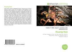 Huang Hao kitap kapağı