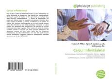 Buchcover von Calcul Infinitésimal