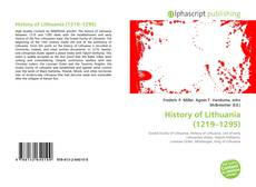 Buchcover von History of Lithuania (1219–1295)