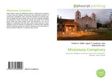 Copertina di Missionary Conspiracy