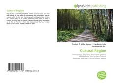 Bookcover of Cultural Region