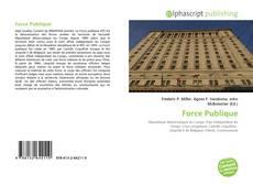 Bookcover of Force Publique