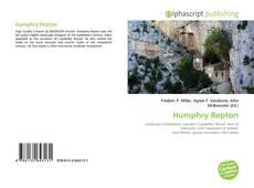 Humphry Repton kitap kapağı