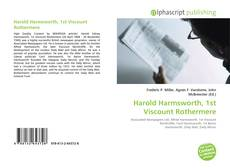 Couverture de Harold Harmsworth, 1st Viscount Rothermere