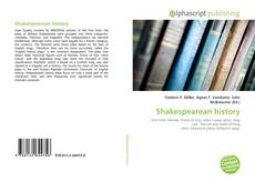 Bookcover of Shakespearean history