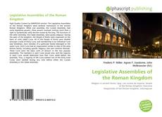 Capa do livro de Legislative Assemblies of the Roman Kingdom