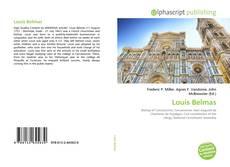 Buchcover von Louis Belmas