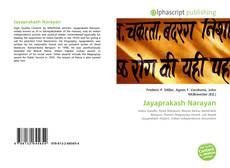 Bookcover of Jayaprakash Narayan
