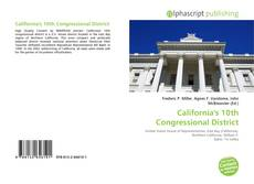 Bookcover of California's 10th Congressional District