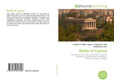 Bookcover of Battle of Cyzicus