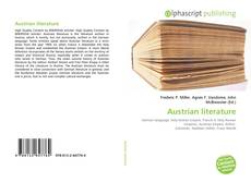 Austrian literature kitap kapağı