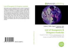 Bookcover of List of Dungeons