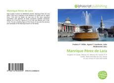 Buchcover von Manrique Pérez de Lara