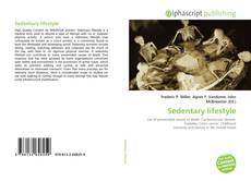 Capa do livro de Sedentary lifestyle