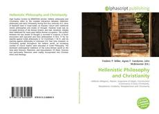 Bookcover of Hellenistic Philosophy and Christianity