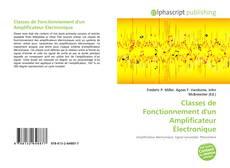 Обложка Classes de Fonctionnement d'un Amplificateur Électronique