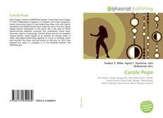 Couverture de Carole Pope
